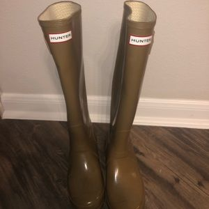 Tan Hunter Boots SZ8